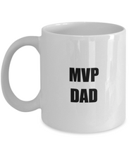 Load image into Gallery viewer, Mvp Dad Coffee Mug Funny Gift Idea for Novelty Gag Coffee Tea Cup-[style]