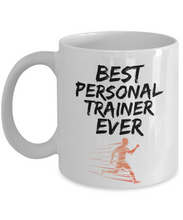 Load image into Gallery viewer, Personal Trainer Mug - Best Personal Trainer Ever - Funny Gift for Gym Coach-Coffee Mug