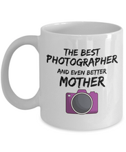 Load image into Gallery viewer, Funny Photographer Mom Mug Best Mother Coffee Cup-Coffee Mug