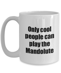 Mandolute Player Mug Musician Funny Gift Idea Gag Coffee Tea Cup-Coffee Mug