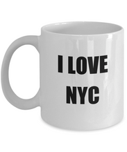 Load image into Gallery viewer, I Love Nyc Mug Funny Gift Idea Novelty Gag Coffee Tea Cup-Coffee Mug