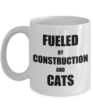 Load image into Gallery viewer, Cat Construction Mug Funny Gift Idea for Novelty Gag Coffee Tea Cup-Coffee Mug