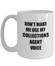 Load image into Gallery viewer, Collections Agent Mug Coworker Gift Idea Funny Gag For Job Coffee Tea Cup-Coffee Mug