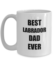 Load image into Gallery viewer, Labrador Dad Mug Dog Lover Funny Gift Idea for Novelty Gag Coffee Tea Cup-[style]
