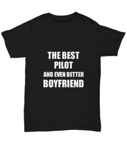 Load image into Gallery viewer, Pilot Boyfriend T-Shirt Funny Gift Idea for Bf Unisex Tee-Shirt / Hoodie