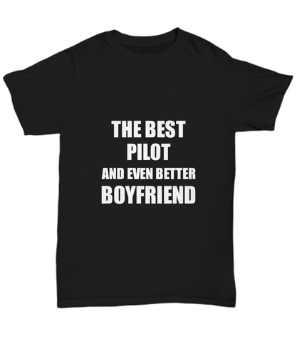 Pilot Boyfriend T-Shirt Funny Gift Idea for Bf Unisex Tee-Shirt / Hoodie