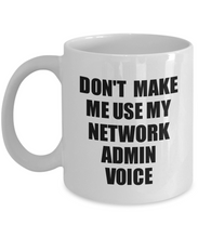 Load image into Gallery viewer, Network Admin Mug Coworker Gift Idea Funny Gag For Job Coffee Tea Cup Voice-Coffee Mug