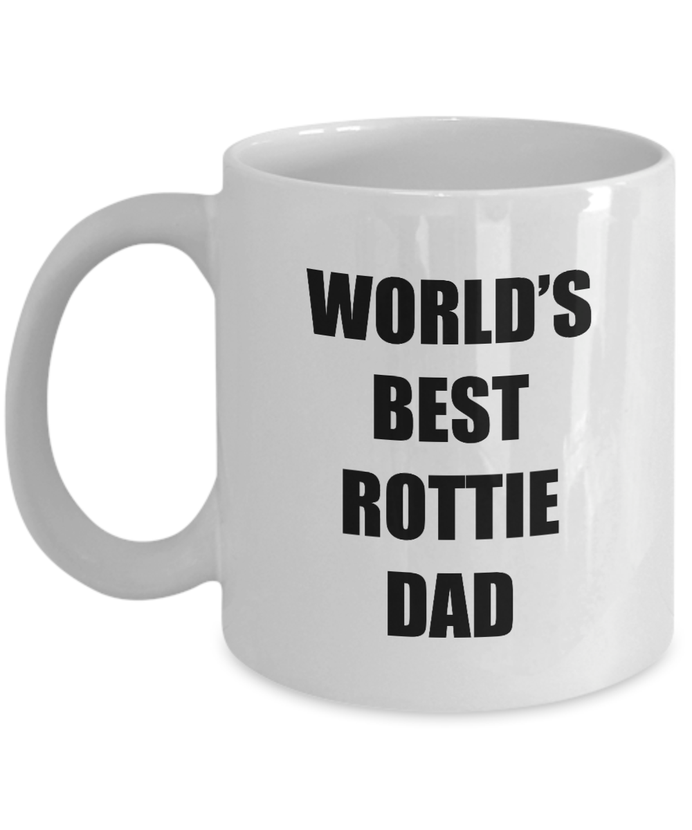 Rottie Dad Mug Rottweiler Lover Funny Gift Idea for Novelty Gag Coffee Tea Cup-[style]