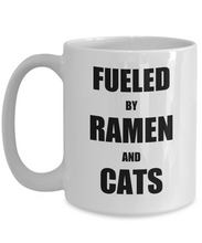 Load image into Gallery viewer, Cat Ramen Mug Funny Gift Idea for Novelty Gag Coffee Tea Cup-Coffee Mug