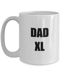 Dad Xl Mug Funny Gift Idea for Novelty Gag Coffee Tea Cup-Coffee Mug