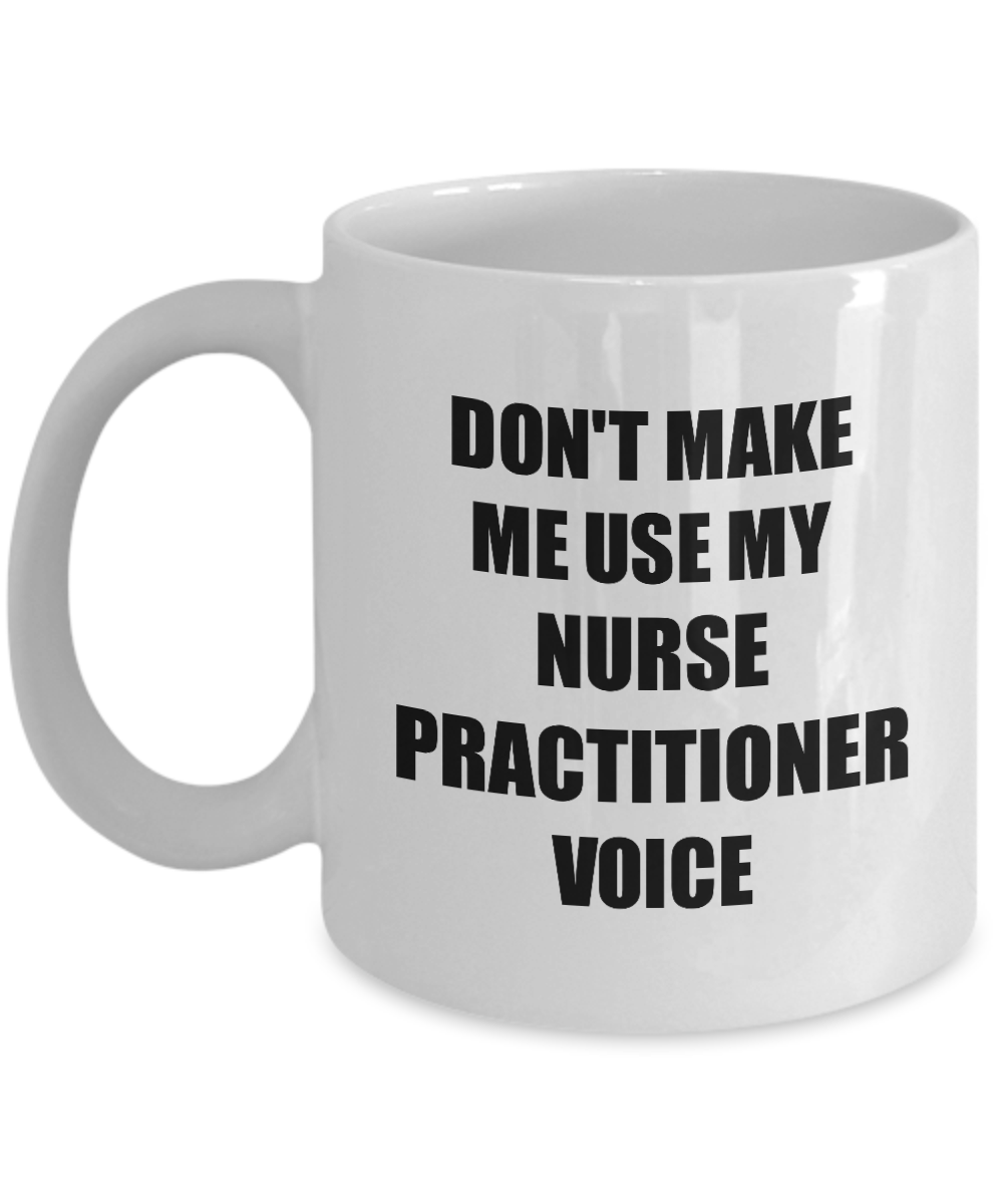 Nurse Practitioner Mug Coworker Gift Idea Funny Gag For Job Coffee Tea Cup-Coffee Mug
