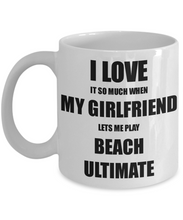 Load image into Gallery viewer, Beach Ultimate Mug Funny Gift Idea For Boyfriend I Love It When My Girlfriend Lets Me Novelty Gag Sport Lover Joke Coffee Tea Cup-Coffee Mug