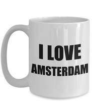 Load image into Gallery viewer, I Love Amsterdam Mug Funny Gift Idea Novelty Gag Coffee Tea Cup-Coffee Mug