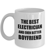 Load image into Gallery viewer, Electrician Boyfriend Mug Funny Gift Idea for Bf Gag Inspiring Joke The Best And Even Better Coffee Tea Cup-Coffee Mug