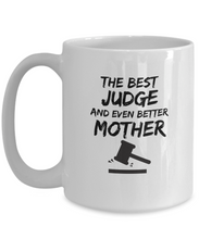 Load image into Gallery viewer, Judge Mom Mug Best Mother Funny Gift for Mama Novelty Gag Coffee Tea Cup-Coffee Mug