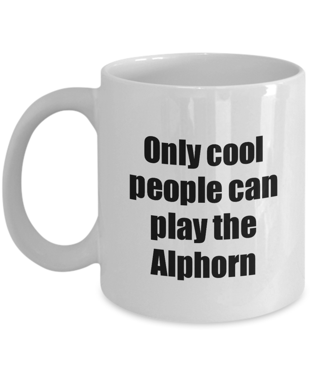 Alphorn Player Mug Musician Funny Gift Idea Gag Coffee Tea Cup-Coffee Mug