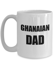 Load image into Gallery viewer, Ghana Dad Mug Ghanaian Proud Funny Gift Idea for Novelty Gag Coffee Tea Cup-[style]