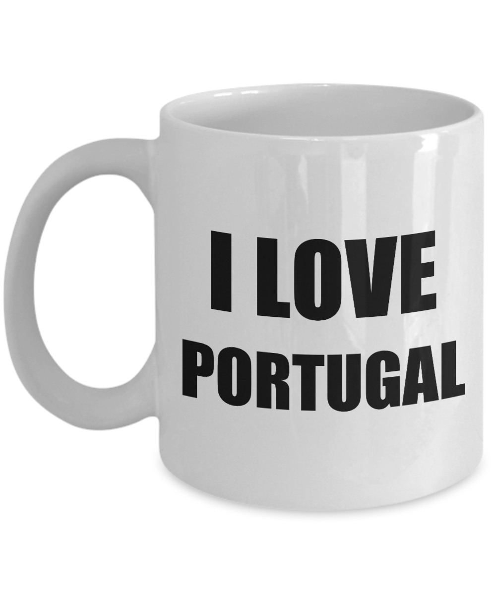 I Love Portugal Mug Funny Gift Idea Novelty Gag Coffee Tea Cup-Coffee Mug