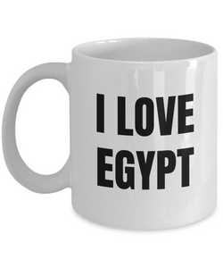 I Love Egypt Mug Funny Gift Idea Novelty Gag Coffee Tea Cup-Coffee Mug