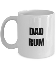 Load image into Gallery viewer, Dad Rum Mug Funny Gift Idea for Novelty Gag Coffee Tea Cup-Coffee Mug