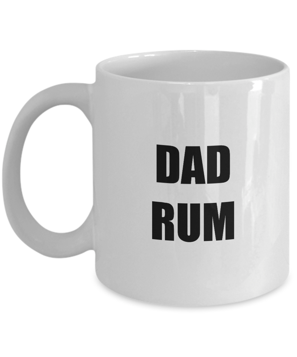 Dad Rum Mug Funny Gift Idea for Novelty Gag Coffee Tea Cup-Coffee Mug