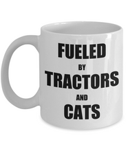 Load image into Gallery viewer, Cat Tractor Mug Funny Gift Idea for Novelty Gag Coffee Tea Cup-Coffee Mug