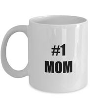 Load image into Gallery viewer, No 1 Mom Mug Funny Gift Idea for Novelty Gag Coffee Tea Cup-Coffee Mug