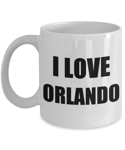 I Love Orlando Mug Funny Gift Idea Novelty Gag Coffee Tea Cup-Coffee Mug
