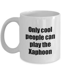 Xaphoon Player Mug Musician Funny Gift Idea Gag Coffee Tea Cup-Coffee Mug
