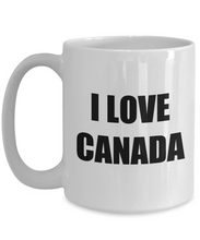 Load image into Gallery viewer, I Love Canada Mug Funny Gift Idea Novelty Gag Coffee Tea Cup-Coffee Mug