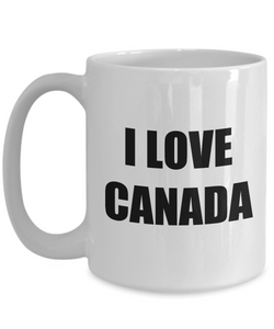 I Love Canada Mug Funny Gift Idea Novelty Gag Coffee Tea Cup-Coffee Mug