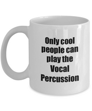 Load image into Gallery viewer, Vocal Percussion Player Mug Musician Funny Gift Idea Gag Coffee Tea Cup-Coffee Mug