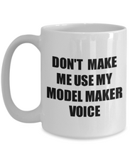 Load image into Gallery viewer, Model Maker Mug Coworker Gift Idea Funny Gag For Job Coffee Tea Cup Voice-Coffee Mug
