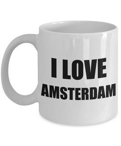 I Love Amsterdam Mug Funny Gift Idea Novelty Gag Coffee Tea Cup-Coffee Mug