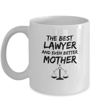 Load image into Gallery viewer, Lawer Mom Mug Best Mother Funny Gift for Mama Novelty Gag Coffee Tea Cup-Coffee Mug