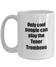 Load image into Gallery viewer, Tenor Trombone Player Mug Musician Funny Gift Idea Gag Coffee Tea Cup-Coffee Mug