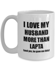 Load image into Gallery viewer, Lapta Wife Mug Funny Valentine Gift Idea For My Spouse Lover From Husband Coffee Tea Cup-Coffee Mug