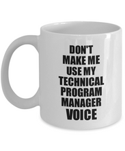 Load image into Gallery viewer, Technical Program Manager Mug Coworker Gift Idea Funny Gag For Job Coffee Tea Cup Voice-Coffee Mug