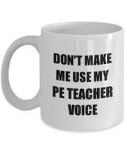 Load image into Gallery viewer, Pe Teacher Mug Coworker Gift Idea Funny Gag For Job Coffee Tea Cup-Coffee Mug