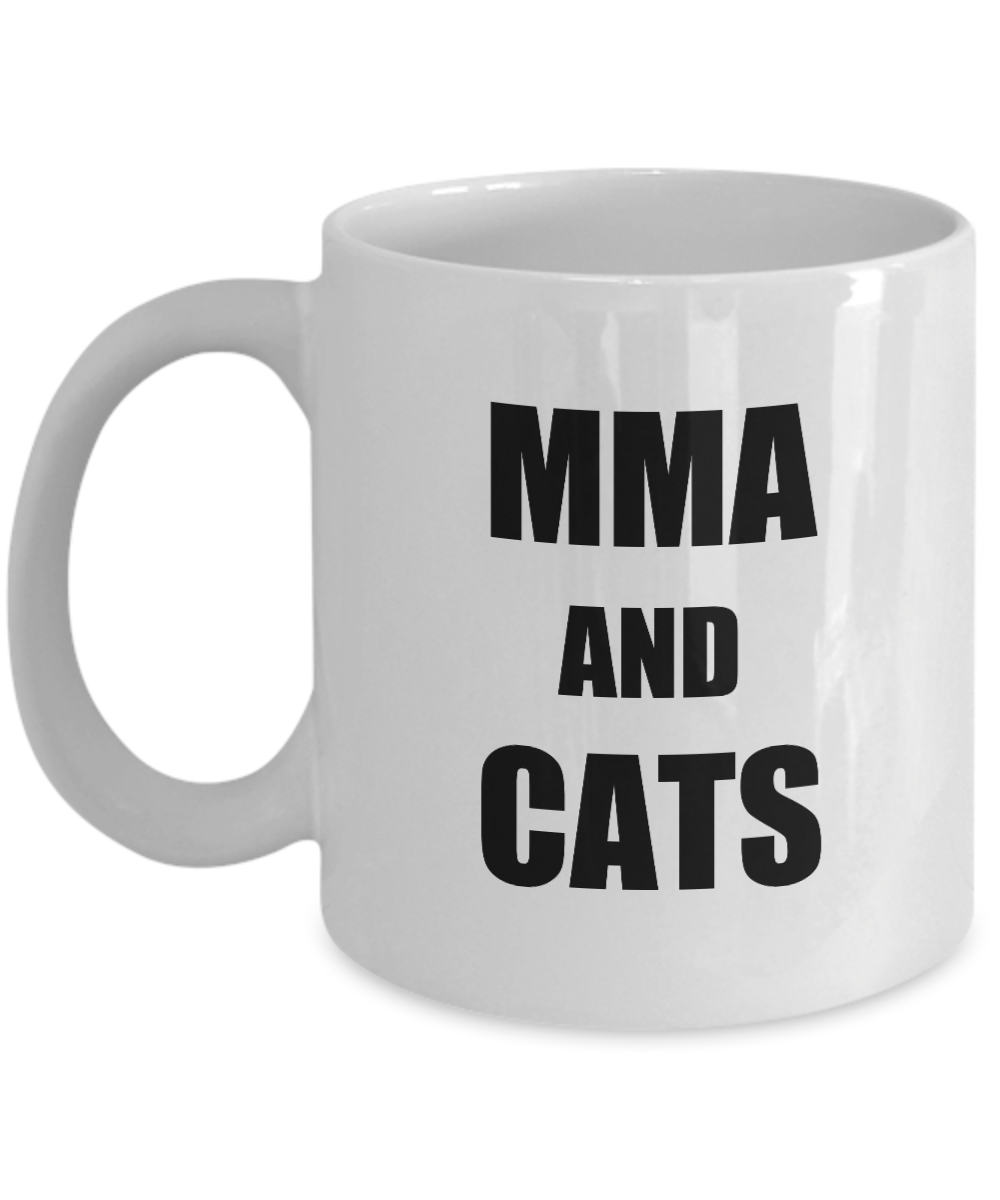 Cat Mma Mug Funny Gift Idea for Novelty Gag Coffee Tea Cup-Coffee Mug