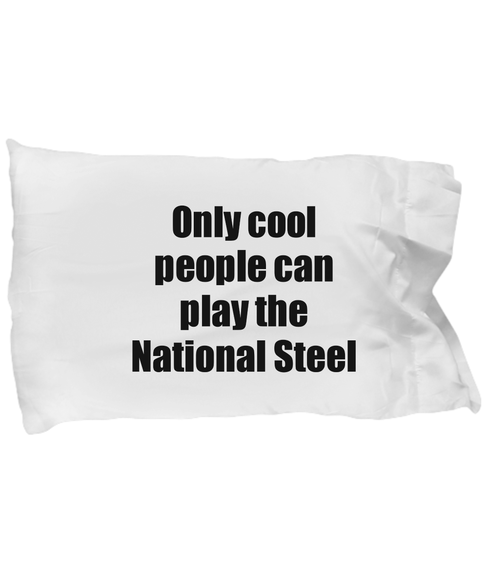 National Steel Player Pillowcase Musician Funny Gift Idea Bed Body Pillow Cover Case Set-Pillow Case