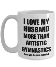 Load image into Gallery viewer, Artistic Gymnastics Wife Mug Funny Valentine Gift Idea For My Spouse Lover From Husband Coffee Tea Cup-Coffee Mug