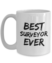 Load image into Gallery viewer, Surveyor Mug Best Survey Ever Funny Gift for Coworkers Novelty Gag Coffee Tea Cup-Coffee Mug