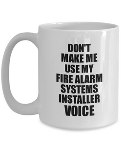 Fire Alarm Systems Installer Mug Coworker Gift Idea Funny Gag For Job Coffee Tea Cup Voice-Coffee Mug