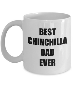 Chinchilla Dad Mug Dog Lover Funny Gift Idea for Novelty Gag Coffee Tea Cup-Coffee Mug