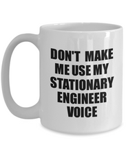 Load image into Gallery viewer, Stationary Engineer Mug Coworker Gift Idea Funny Gag For Job Coffee Tea Cup Voice-Coffee Mug