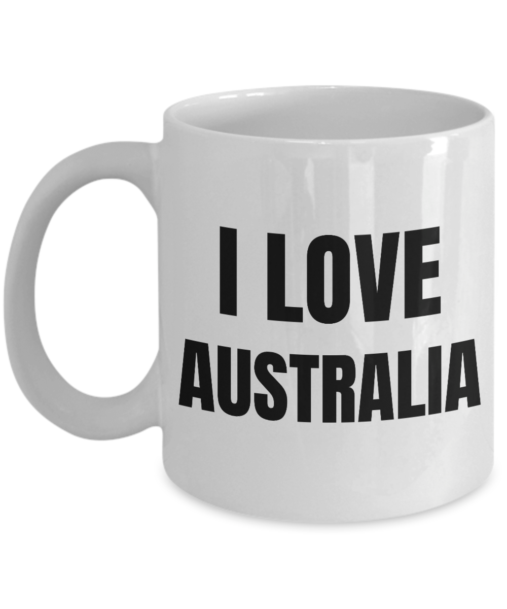 I Love Australia Mug Funny Gift Idea Novelty Gag Coffee Tea Cup-Coffee Mug