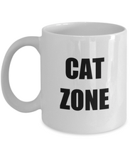 Load image into Gallery viewer, Cat Zone Tee Mug Funny Gift Idea for Novelty Gag Coffee Tea Cup-Coffee Mug