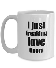 Load image into Gallery viewer, Opera Lover Mug I Love Dessert Funny Gift Idea For Foodie Coffee Tea Cup-Coffee Mug