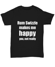 Load image into Gallery viewer, Rum Swizzle Cocktail T-Shirt Lover Fan Funny Gift Idea Alcohol Unisex Tee-Shirt / Hoodie